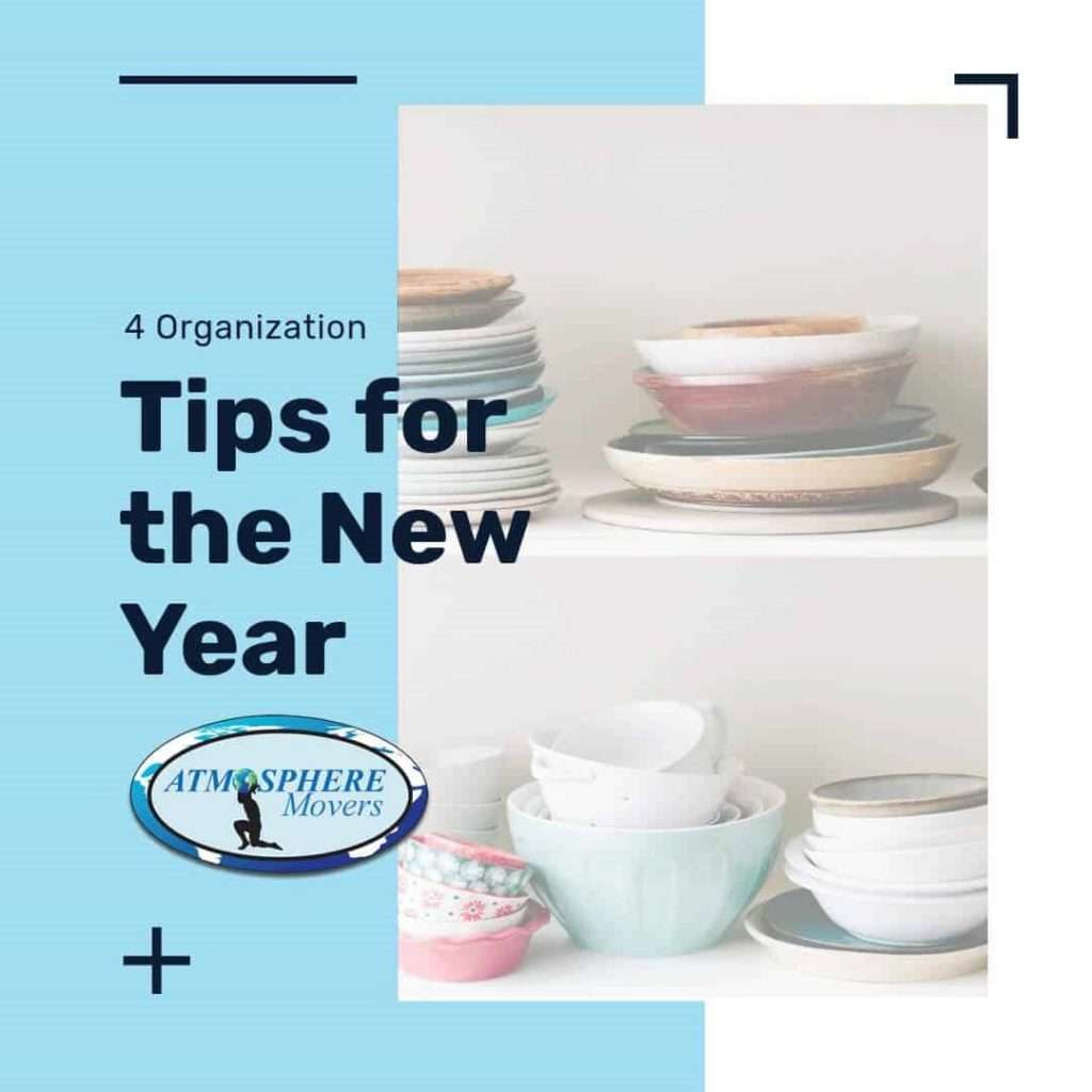 4 Organization Tips for the New Year