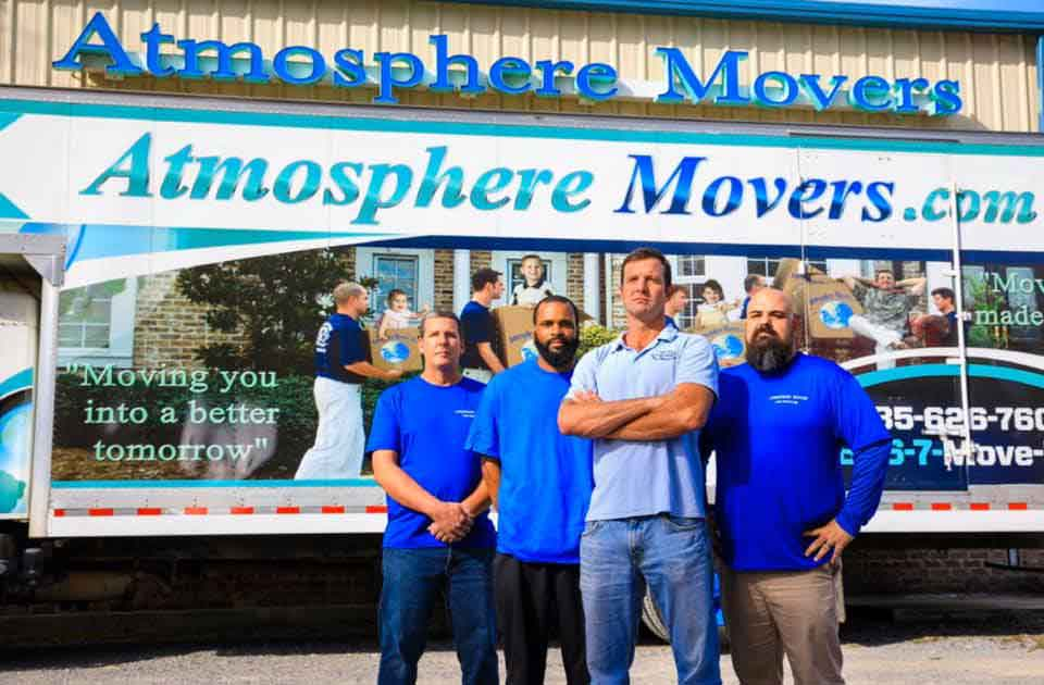 Atmosphere Movers Local And Long Distance Moving Company